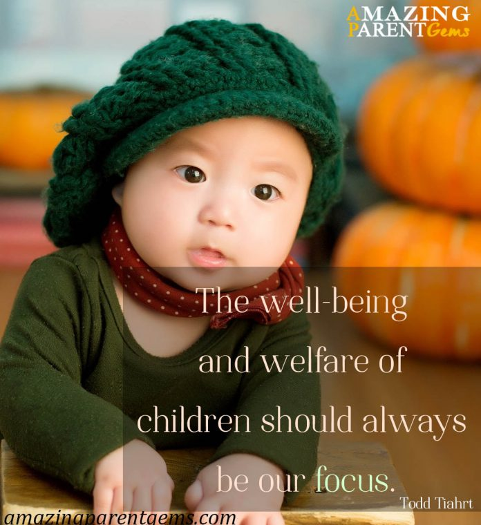 Our Children's Well Being and Welfare